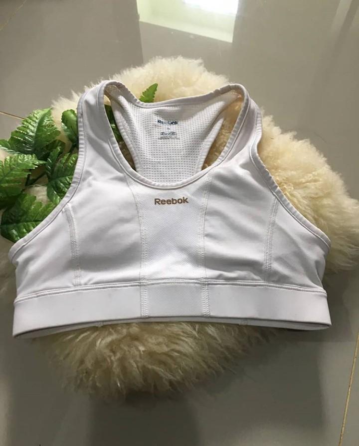 REEBOK Sport Bra Putih Original