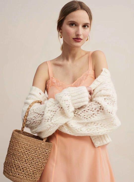 Rouje Mohair wool sweater cardigan