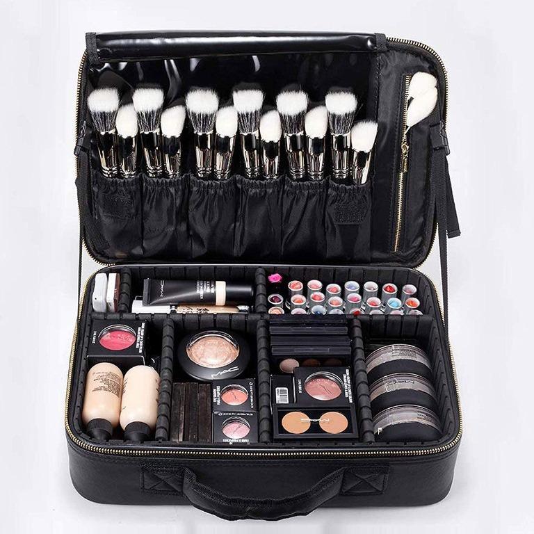 Rownyeon Makeup Bag Travel Case