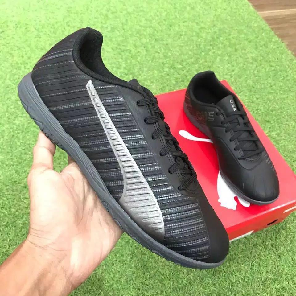 Sepatu Futsal Puma 5.4 IT Black - Original