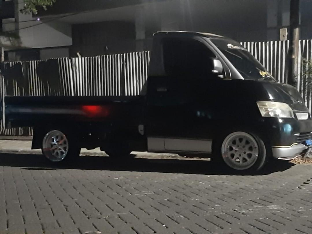 Sewa mobil pick up + supir