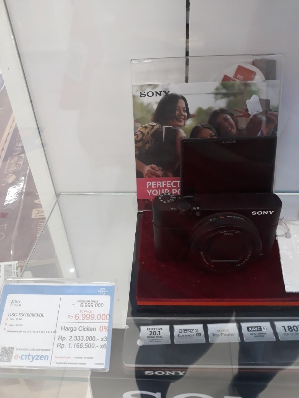 Sony Mirroless Sony DSC RX100 Kredit DP 10%