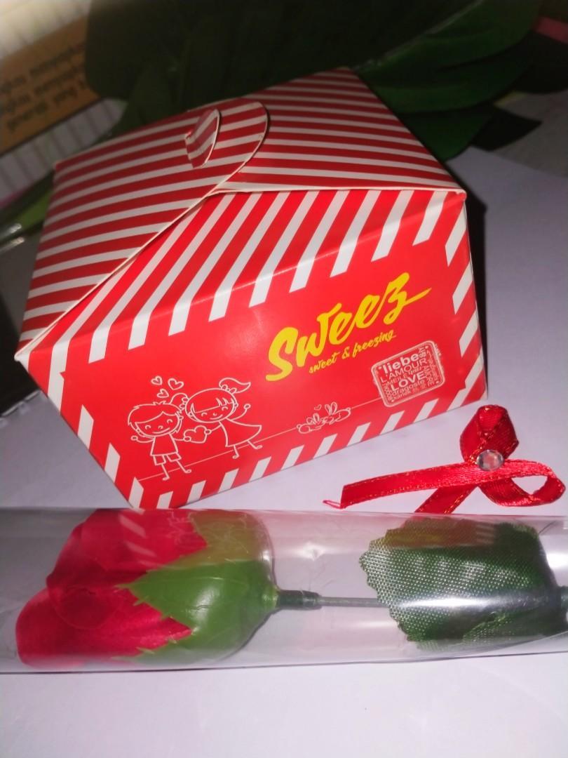 Take All bunga dan box nya