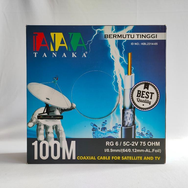 Tanaka Kabel TV Coxial 100M