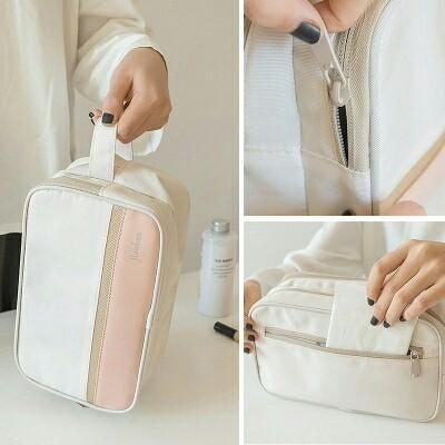 Tas kosmetik dan alat mandi ( FLAWLESS ) basah dan kering