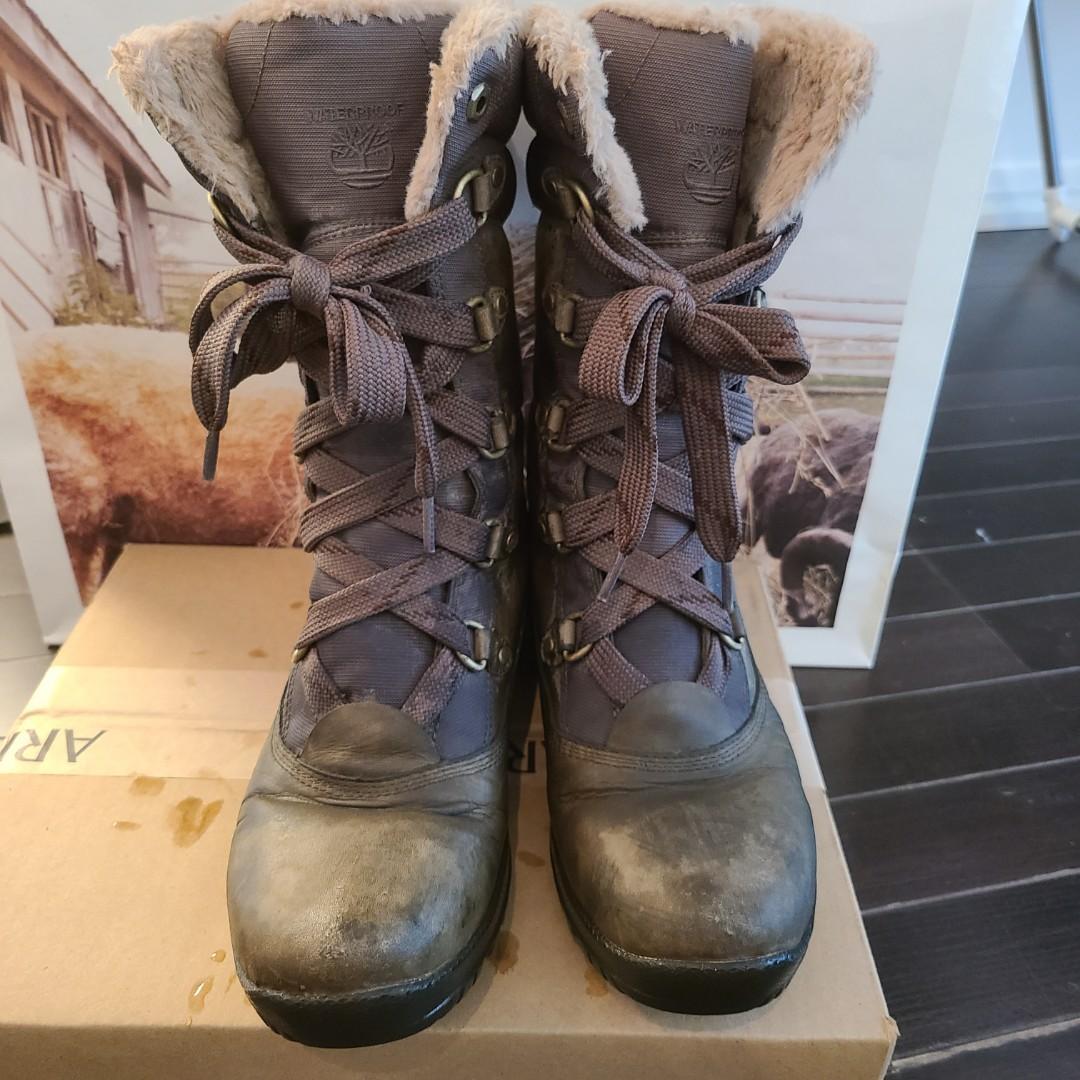 Timberland winter boots 7.5-8