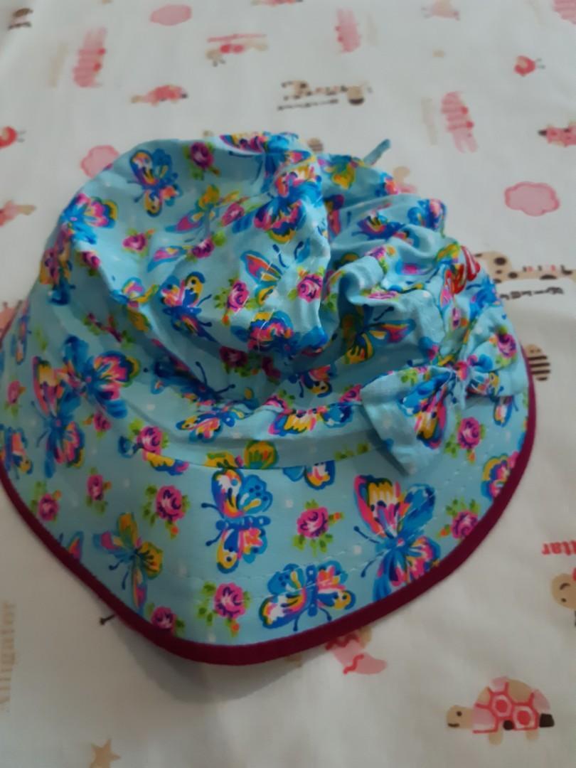 Topi anak Flower