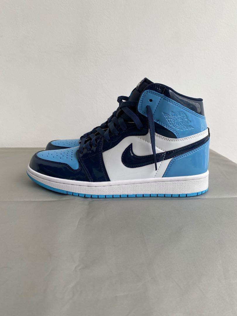 US10 Air Jordan 1 Blue Chill, Men's