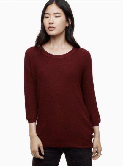 Wilfred Balzac Sweater (Burnt Orange) 🍁