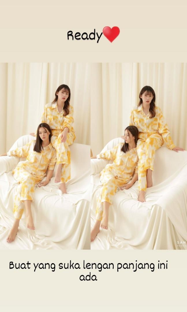 Yellow long set♥️