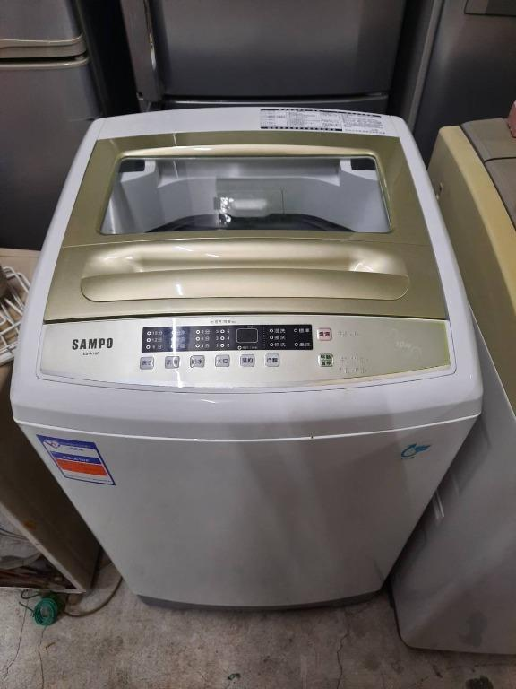 聲寶10公斤洗衣機
