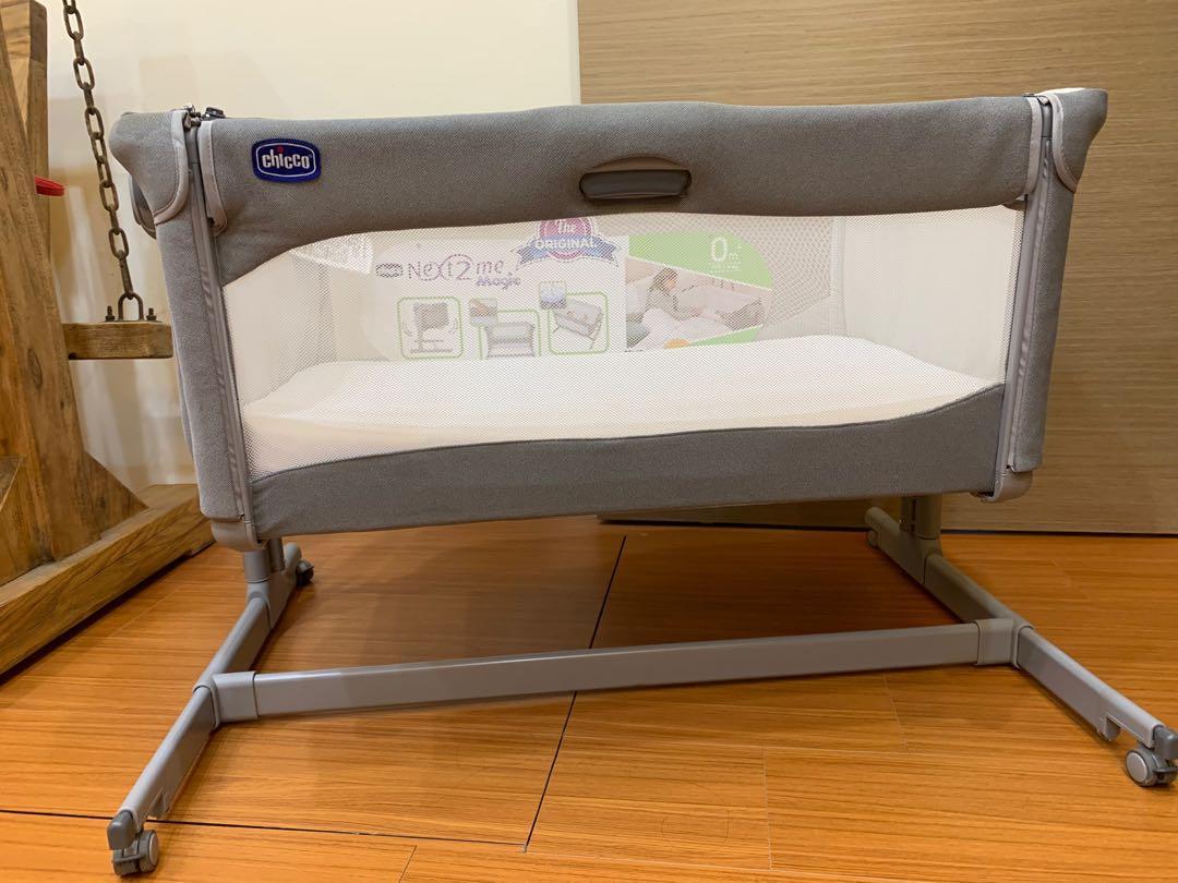 2020 chicco Next 2 Me Magic 多功能 床邊床 嬰兒床  透氣床墊 媽媽育兒好幫手 小家庭必備