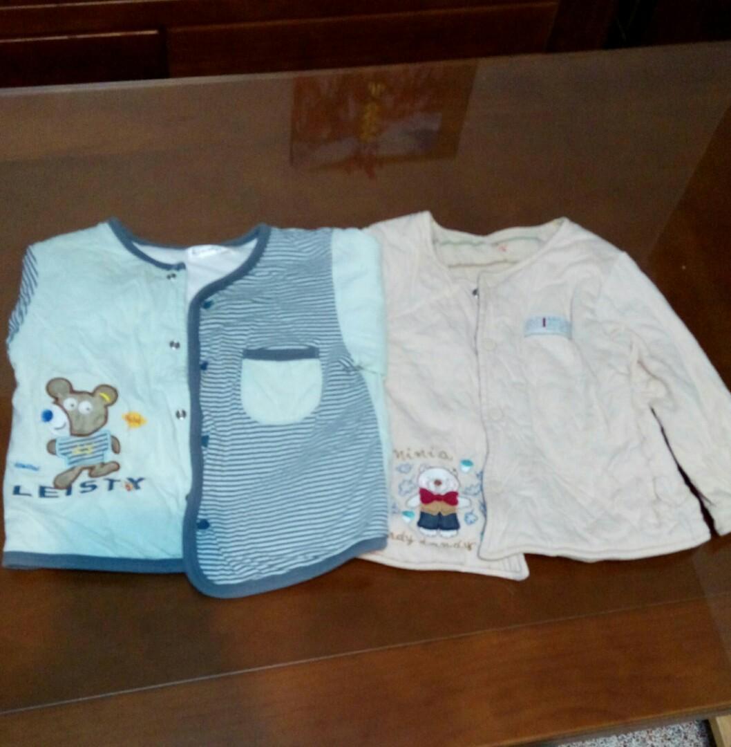 男童2號冬天長袖衣服兩件只要50元