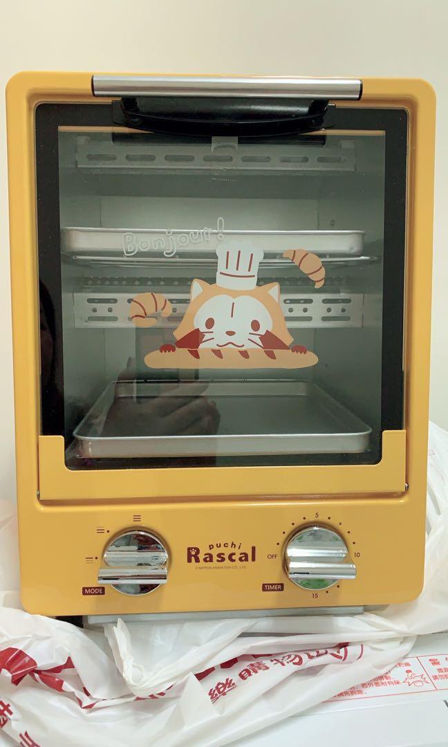 小小浣熊雙層烤箱