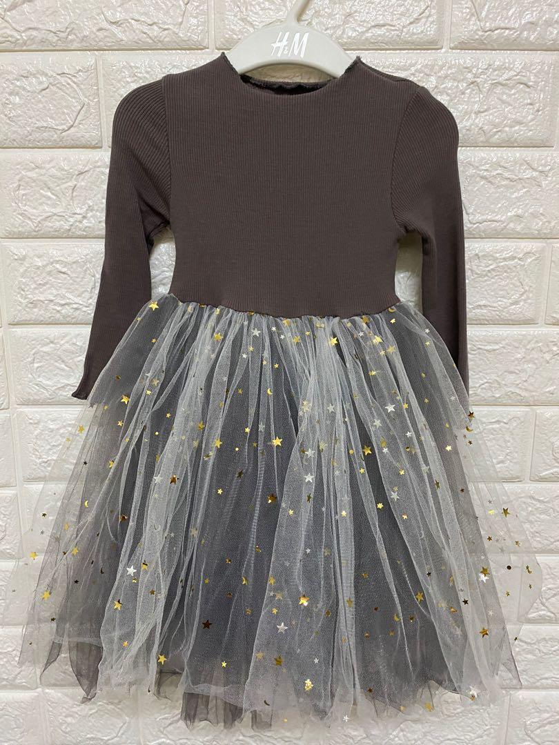 紗裙連身裙