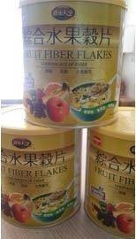 綜合水果穀片 450g/罐~全素