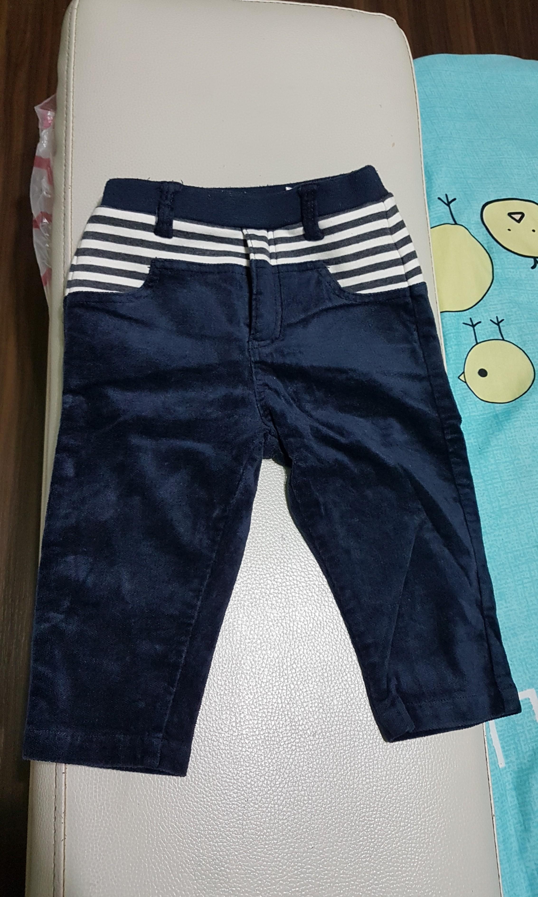 麗嬰房 特色長褲 12M