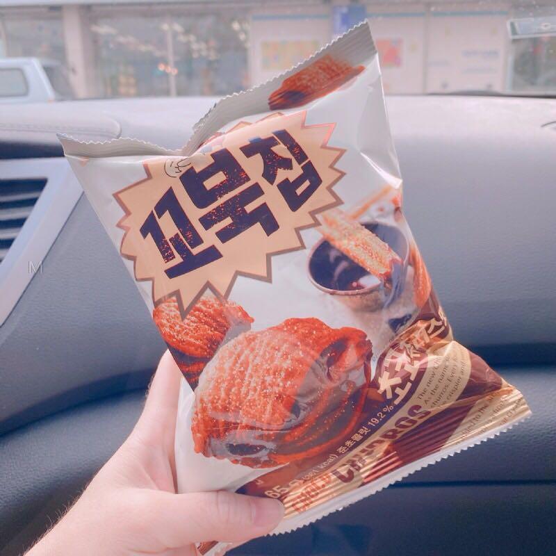 韓國好麗友 烏龜玉米脆片