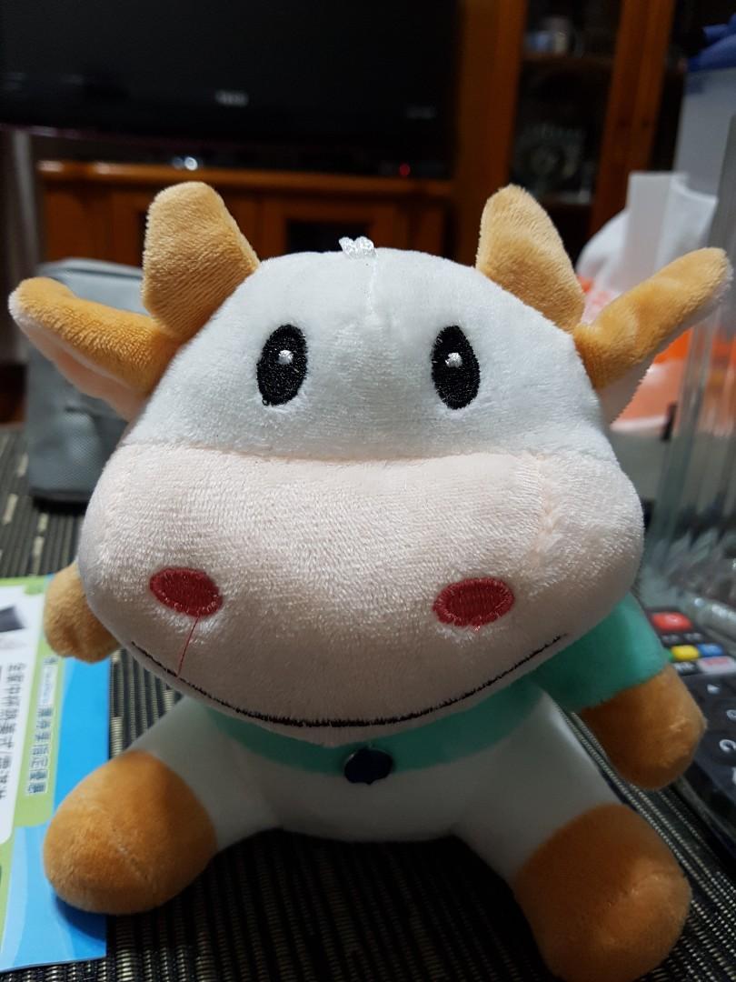 可愛小牛玩偶 超便宜賣出