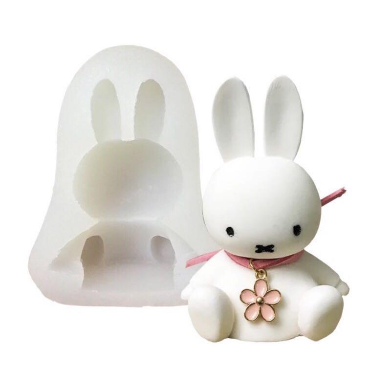 芳香石模 兔子芳香石模 石膏模
