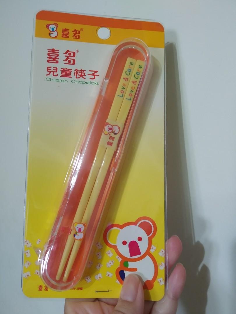 兒童筷子 喜多 乳牛 無尾熊圖案