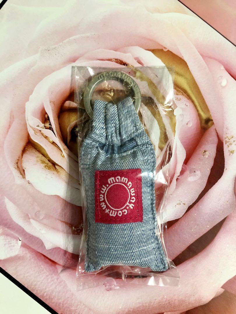全新🌷 mamaway 媽媽餵 牛仔揹巾造型鑰匙圈【浪漫晴天】#週慶