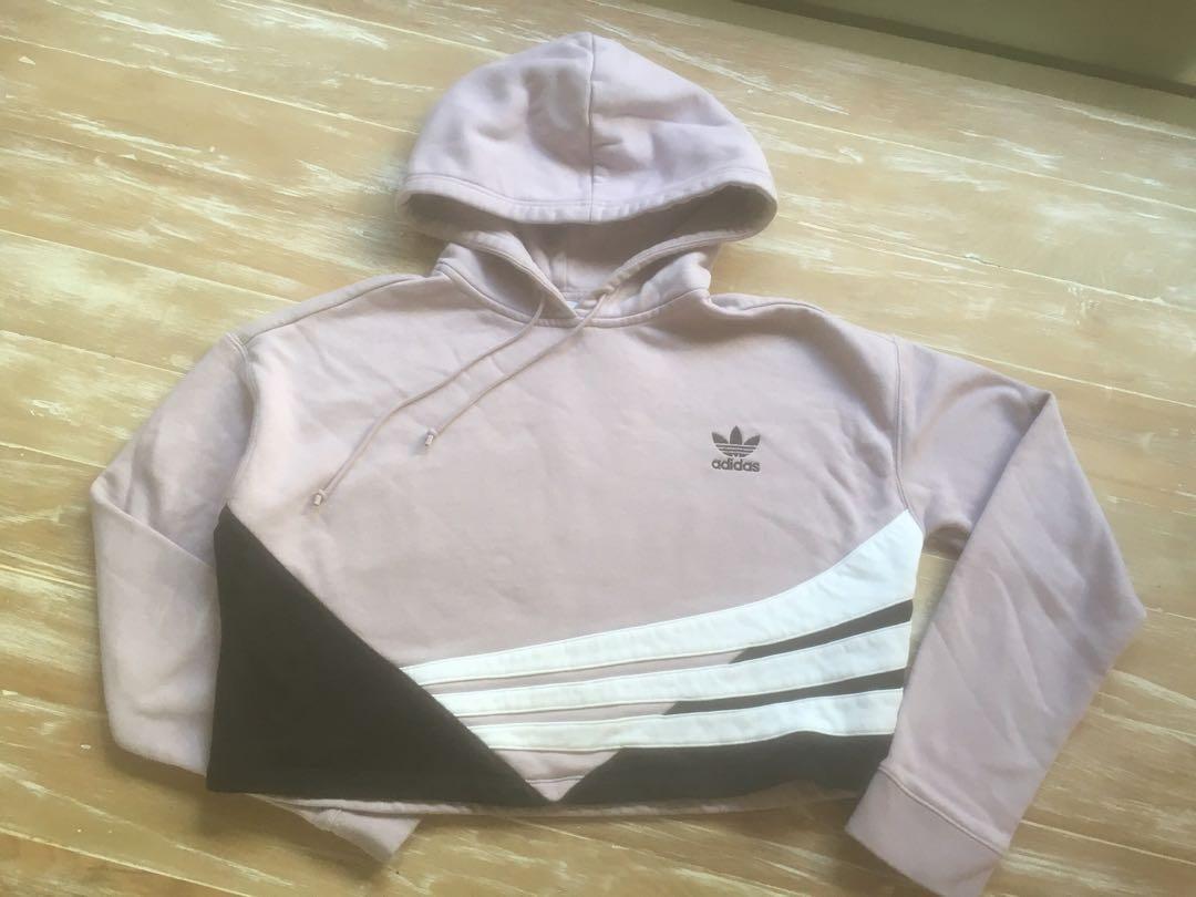 Adidas crop hoody