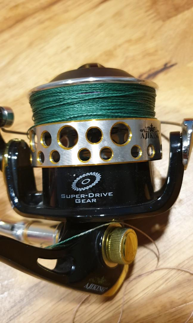 Ajiking Spinning Reel Wide Spool