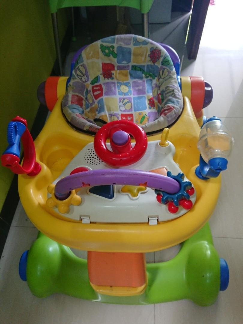 Baby walker / push walker 2in 1