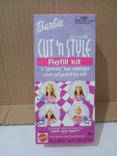 Barbie cut n Style refill kit