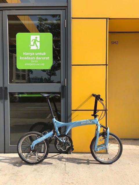 "Birdy City By Riese und Müller 2011 18"" Folding Bike"