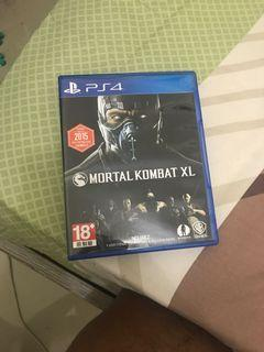 Blueray Disk Mortal Kombat XL