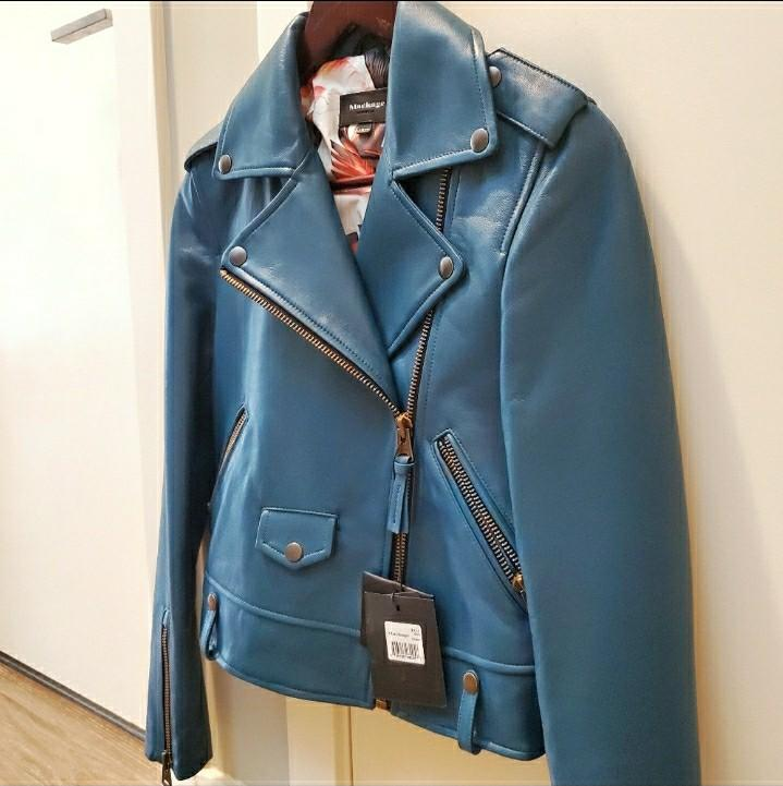 BNWT Mackage baya leather jacket (xxs)
