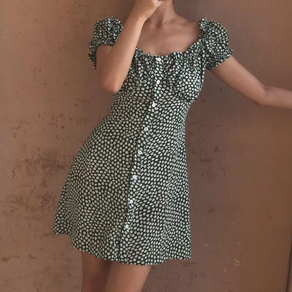 Brand new French style dress size M