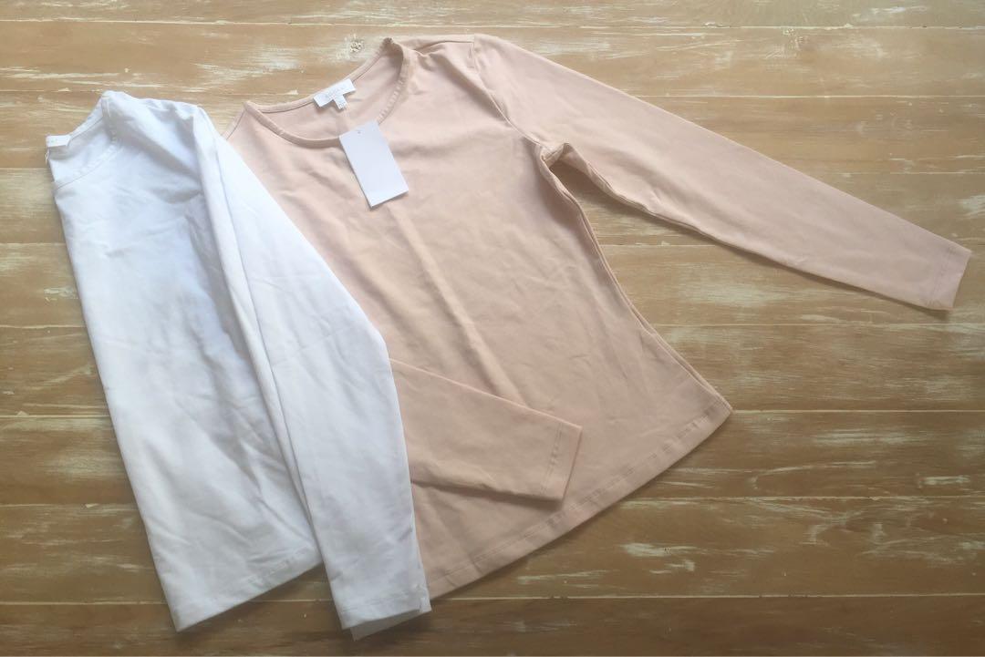 Brand New Kookai long sleeve tops size 1