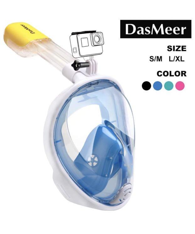 Brand new Snorkel Mask DasMeer Full Face(L-Xl)