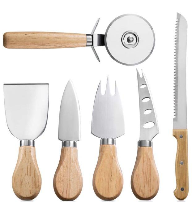 Brand new Wood Handle Stainless Steel Kitchen Tools Set (6 PCS)
