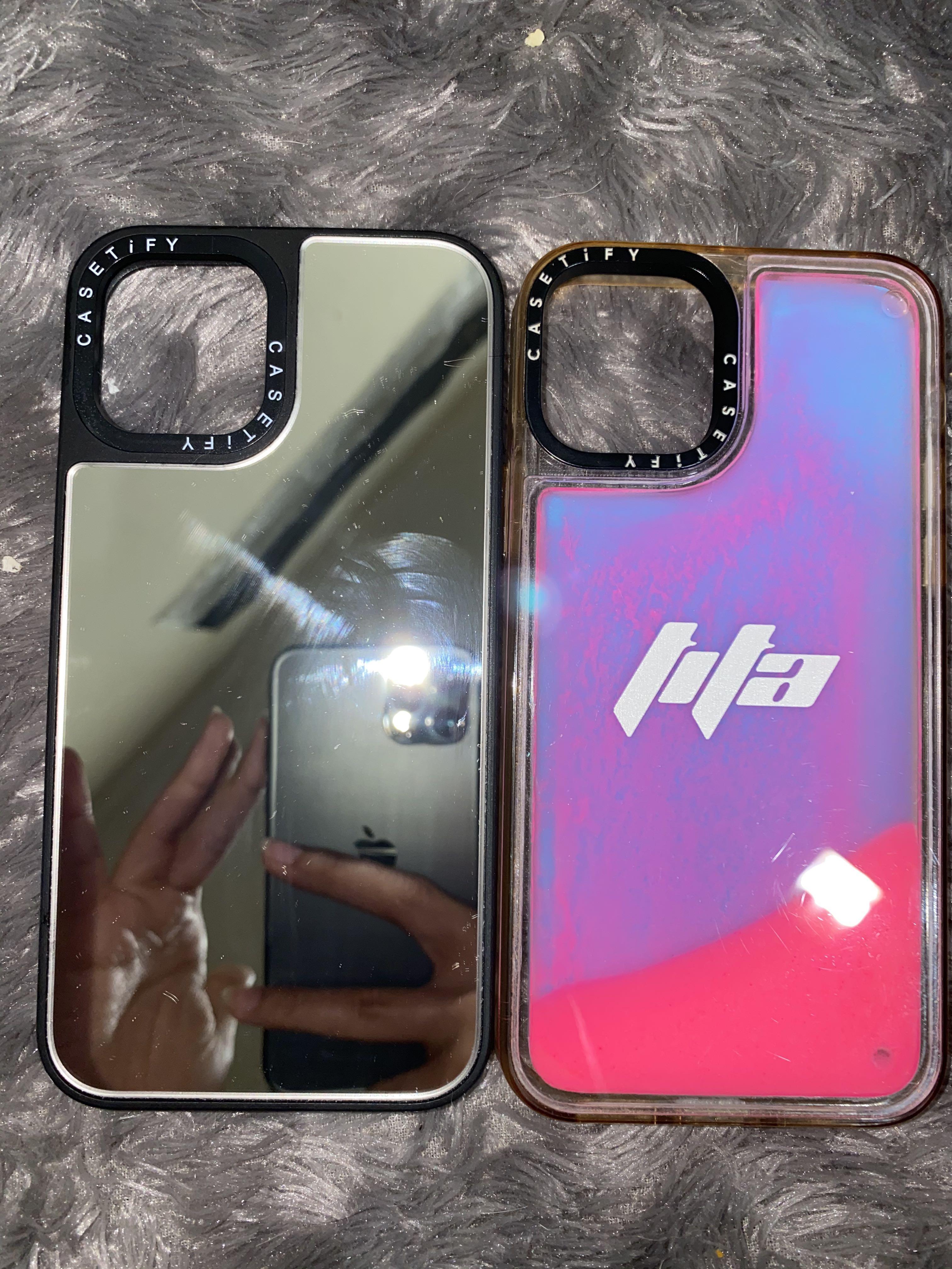 Casetify LOOK-ALIKE Mirror Case Silver