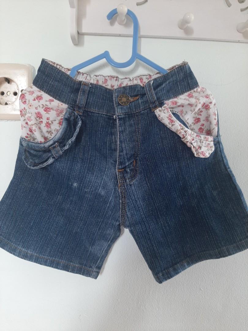 Celana Pendek Jeans 3-4 thn