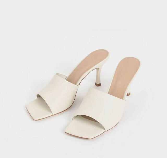 Charles and Keith Toe Mules