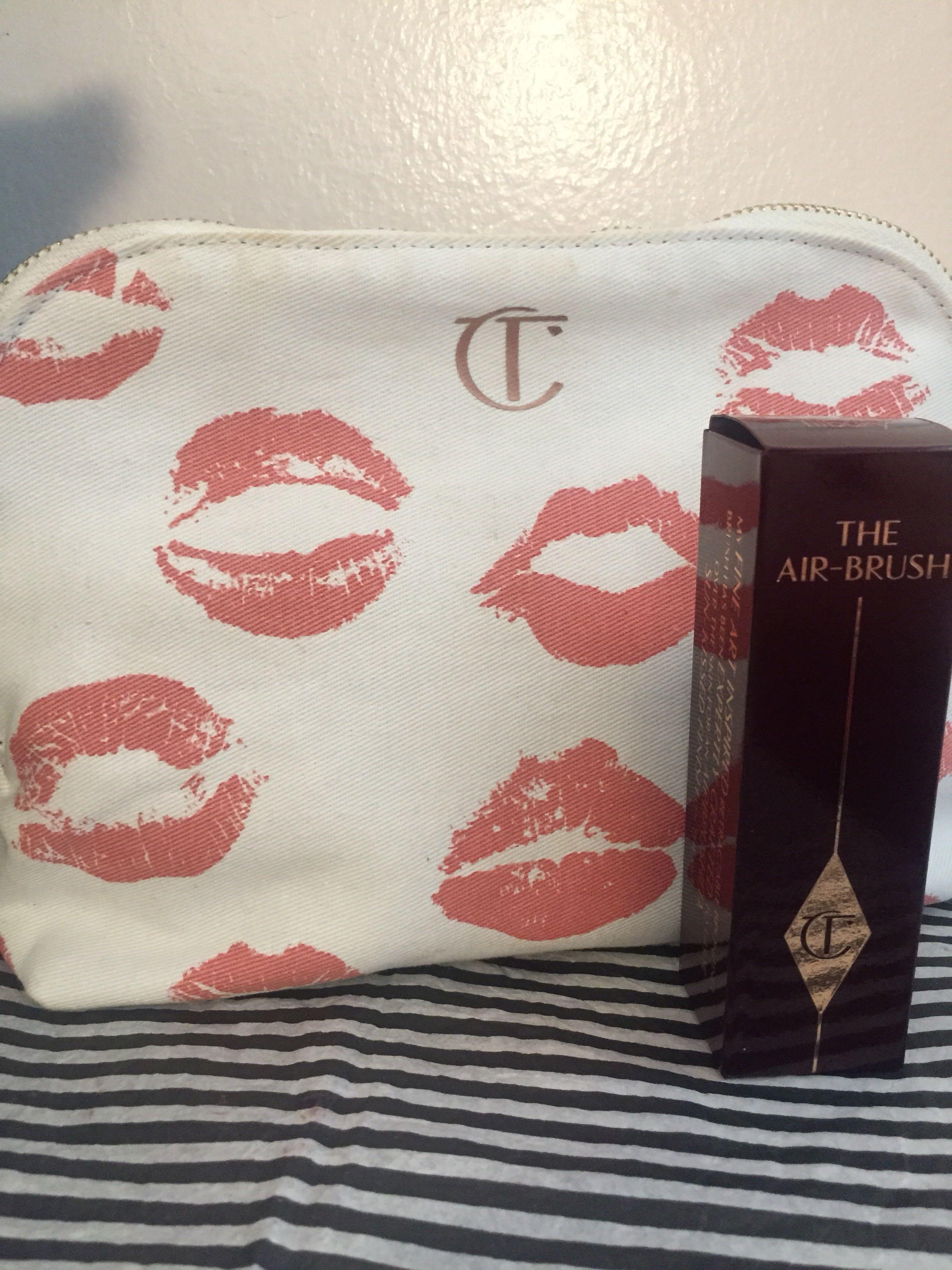 Charlotte Tilbury Makeup Bag and Brush