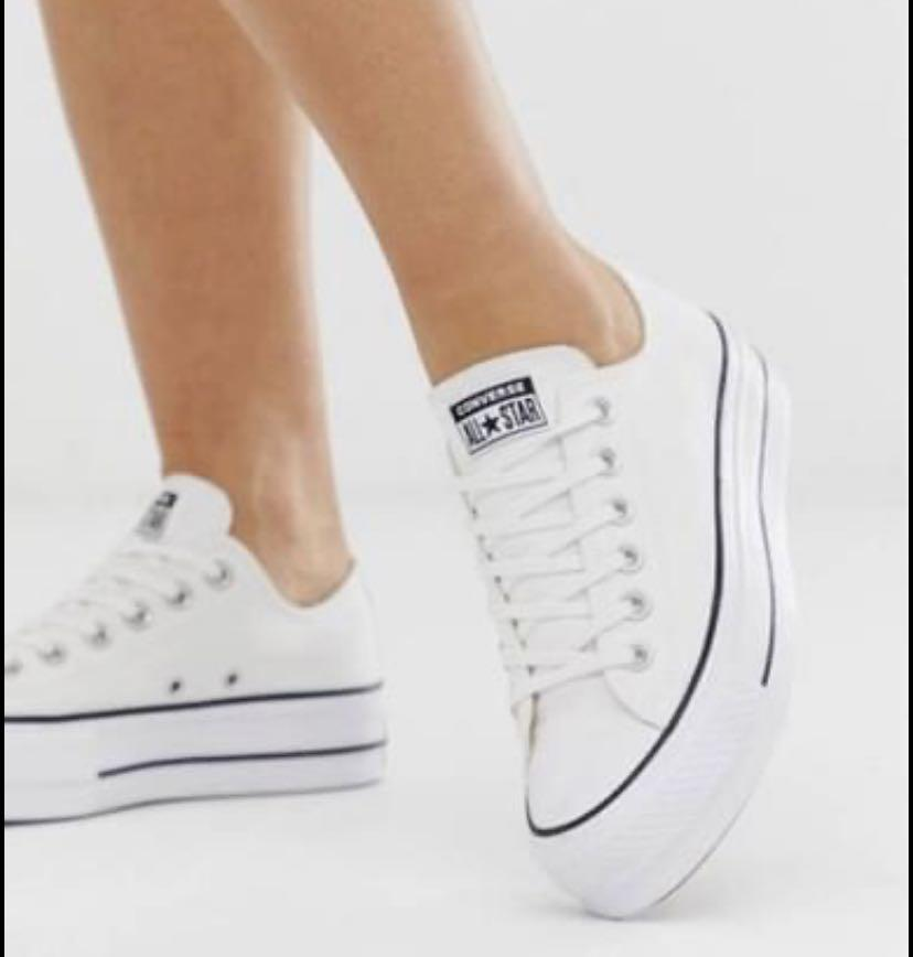 Chuck Taylor All Star Lift Low Top Women's White Converse