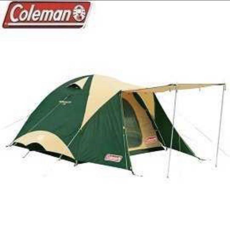 Coleman 圓頂帳 300*300 綠 露營 家庭帳 帳篷