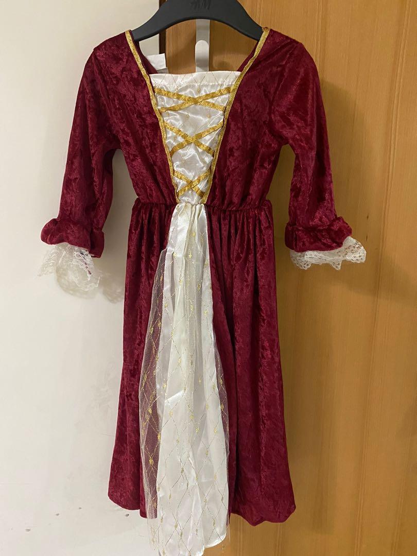 萬聖節costume-歐洲宮廷裝(附皇冠)