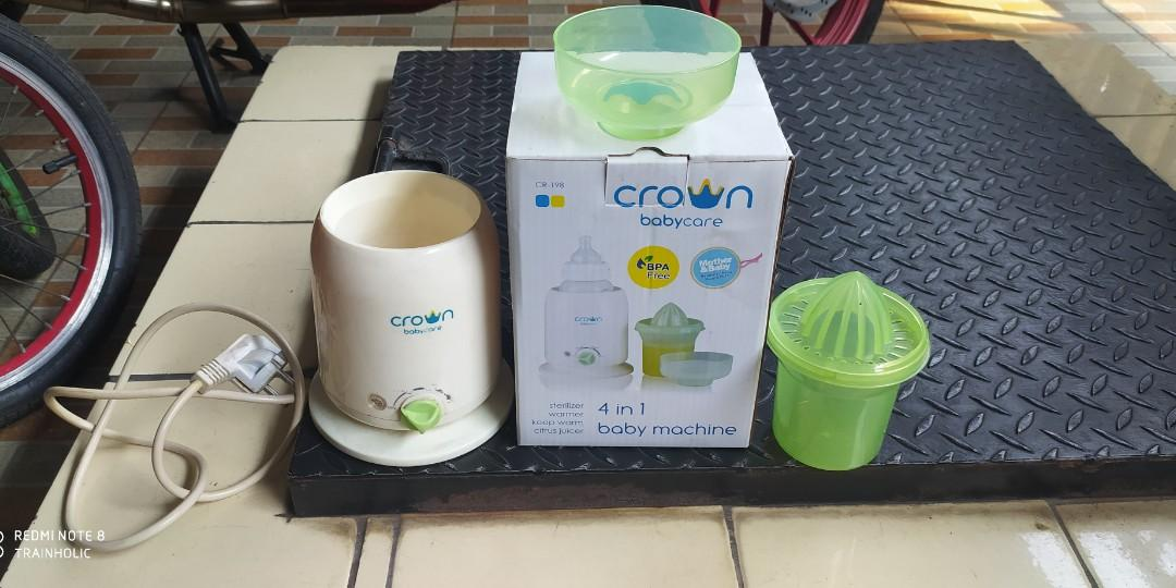 Crown Bottle Warmer