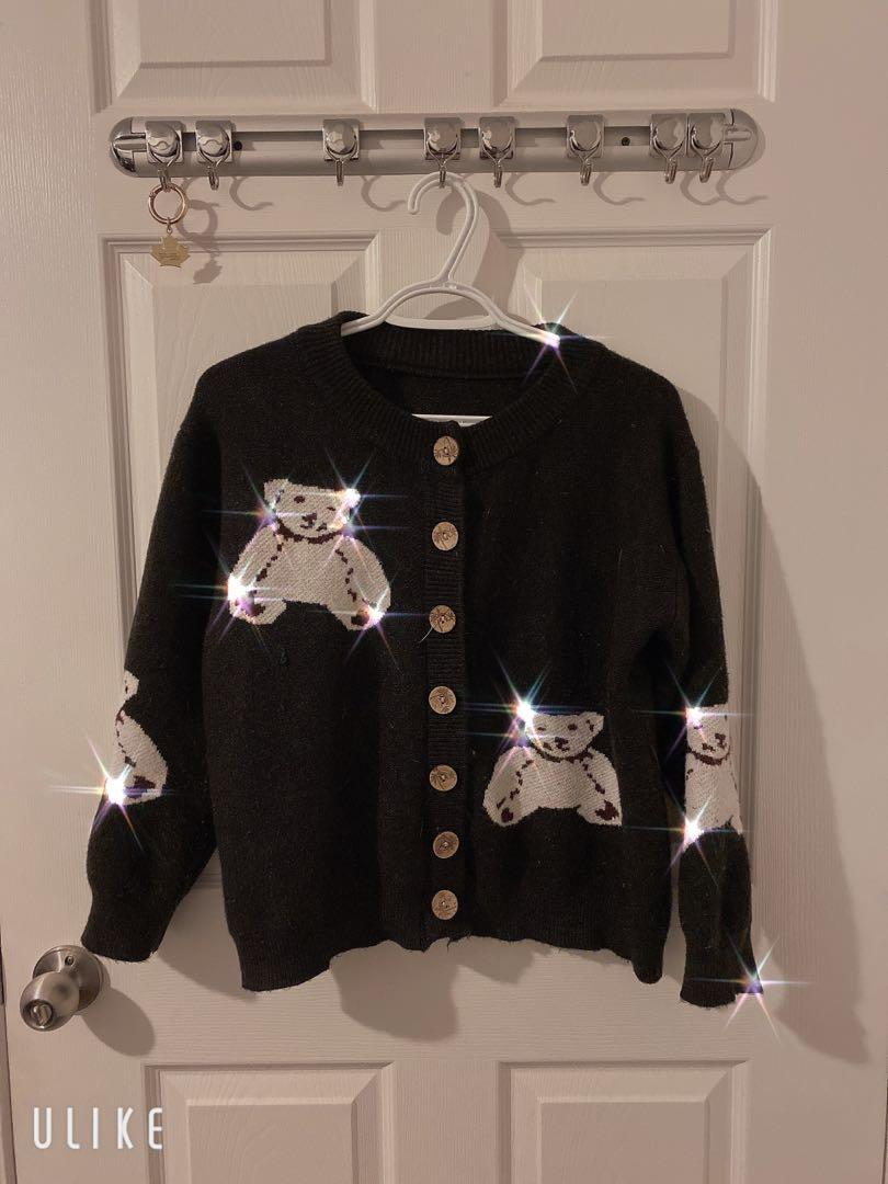 Cute bear cardigan