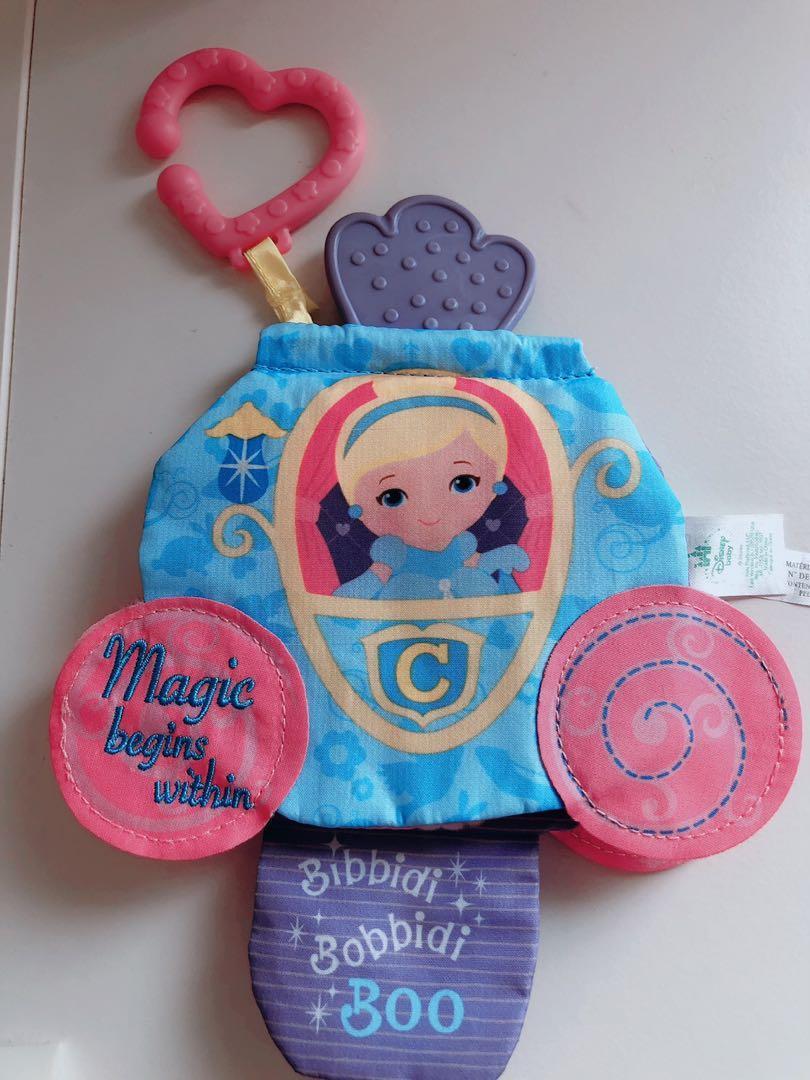 disney baby softbook princess cinderella teether