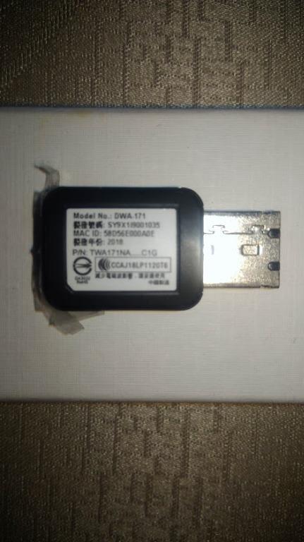 D-LINK USB WIFI無線網卡 幾乎全新。