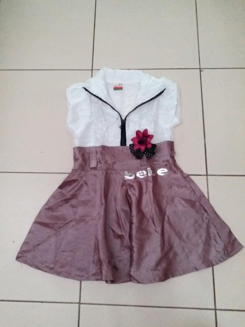 Dress Anak usia 1 sd 3th