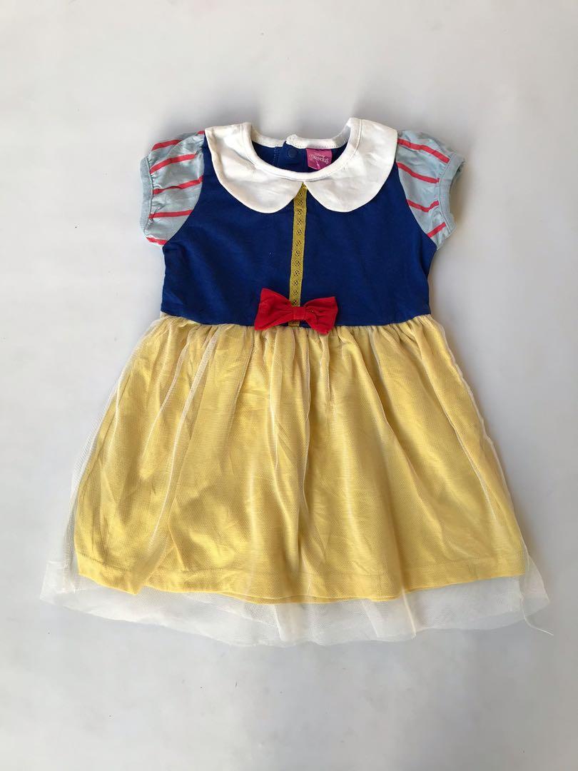 Dress putri salju disney